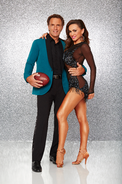`Dancing with the Stars`: Doug Flutie and Karina Smirnoff. (ABC photo/Craig Sjodin)
