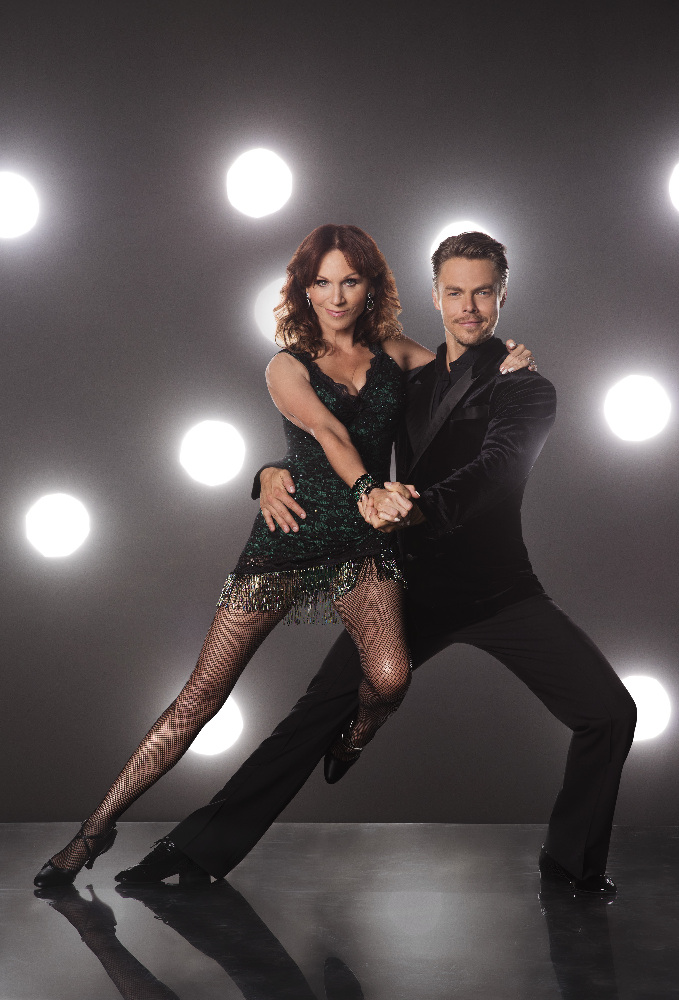 `Dancing with the Stars`: Marilu Henner and Derek Hough - The stars grace the ballroom floor for the first time on live national television with their professional partners during the two-hour season premiere of `Dancing with the Stars,` which airs Monday, Sept. 12 (8-10:01 p.m., ET), on the ABC Television Network. (ABC photo by Craig Sjodin)