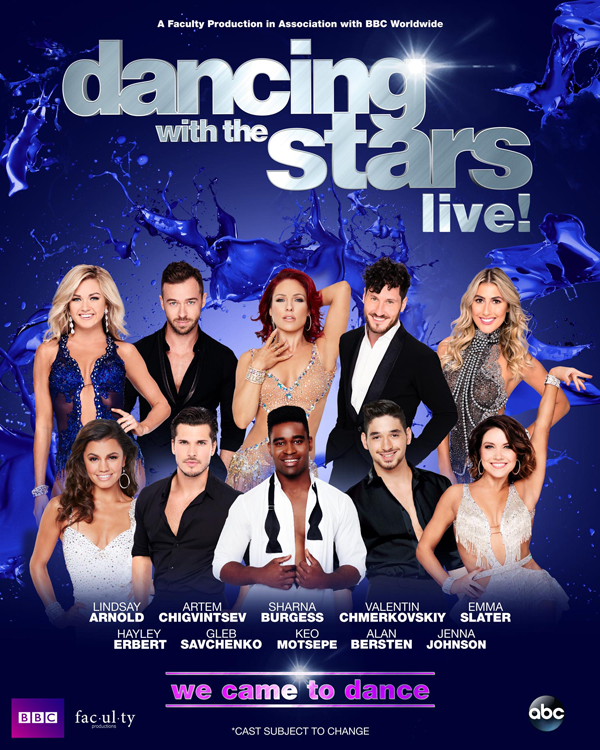 `Dancing with the Stars: Live! - We Came to Dance` (Submitted image)