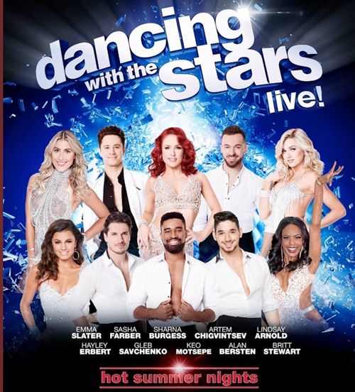 `Dancing With The Stars: Live! - Hot Summer Nights` (Photo by Faculty Productions)