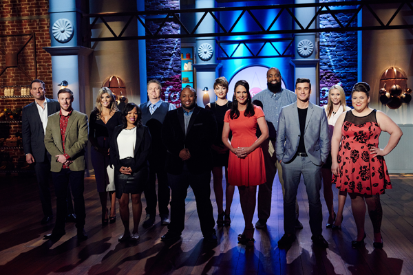 Pictured are the `Food Network Star` season 12 finalists. (Food Network photo)