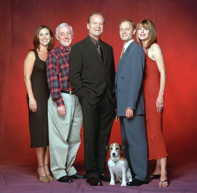 The cast of `Frasier.` (NBC photo)