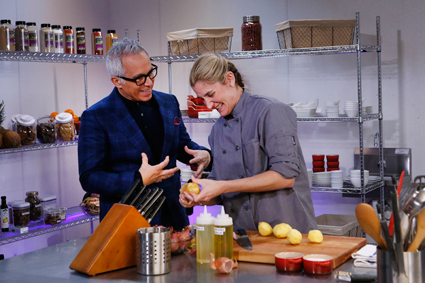 Geoffrey Zakarian Hosts