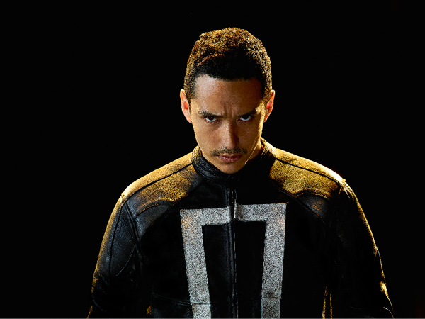`Marvel's Agents of S.H.I.E.L.D.`: Gabriel Luna as Robbie Reyes, aka the Ghost Rider. (ABC photo by Matthias Clamer)