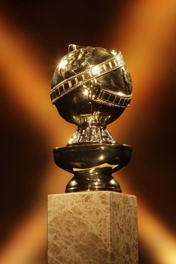 The Golden Globe Awards statuette. (NBC photo by Chris Haston)