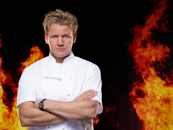 `Hell's Kitchen`: Gordon Ramsay is back for a new season. (FOX photo by Patrick Ecclesine)