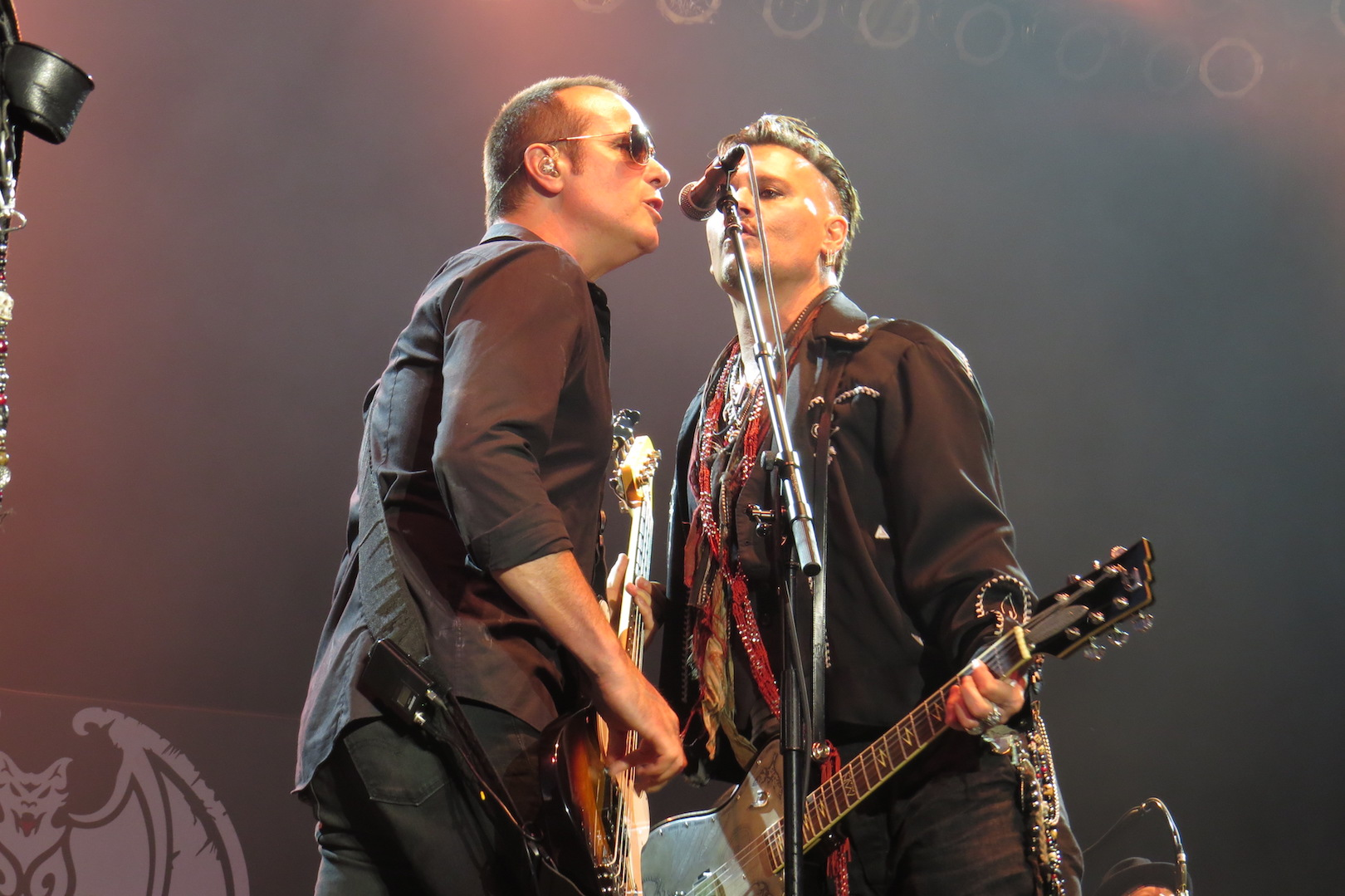 Robert DeLeo and Johnny Depp