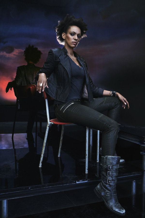 """Heroes Reborn"": Judi Shekoni as Joanne. (NBC photo by Jeff Riedel)"