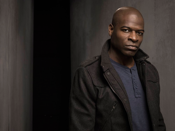 `The Blacklist`: Hisham Tawfiq as Dembe. (NBC photo by Justin Stephens)