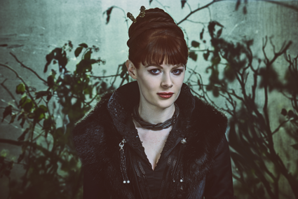 """Into the Badlands"": Emily Beecham as The Widow."