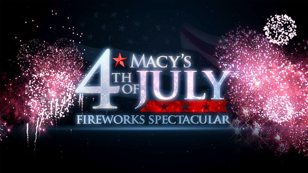 `Macy's 4th of July Fireworks Spectacular` (NBC logo)