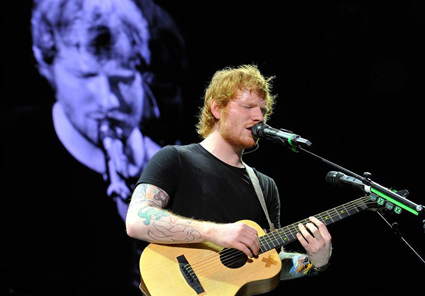 Ed Sheeran (Submitted NBC photo)