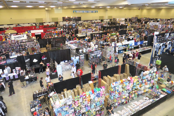 Niagara Falls Comic Con at Scotiabank Convention Center in Niagara Falls, Ontario. (Click for a larger image)