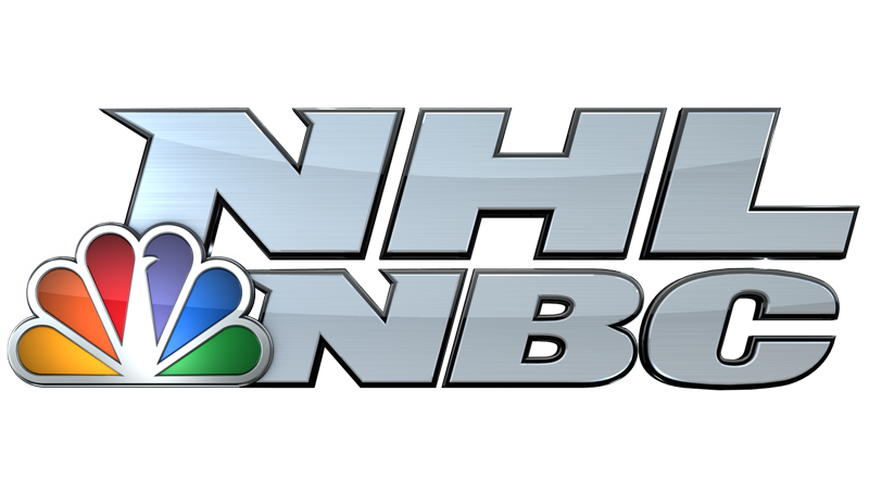 The NHL on NBC. (NBCSN logo)