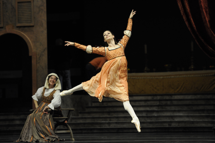 The San Francisco Ballet Company's `Romeo & Juliet` (Credit: © Erik Tomasson)