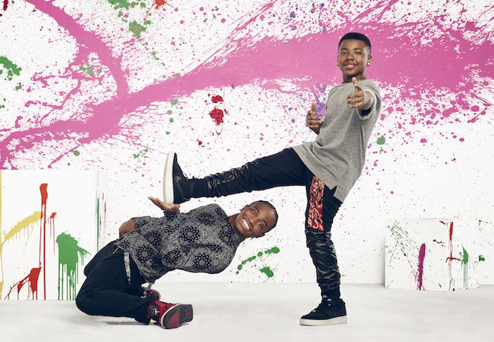 `So You Think You Can Dance`: Pictured, from left: All-star Fik-shun Stegall and Kida Burns (©2017 Fox Broadcasting photo by Drew Herman)