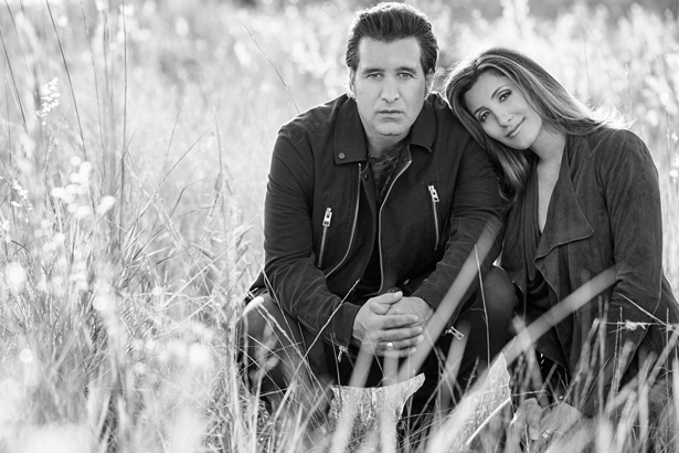 Scott Stapp sits with his wife, Jaclyn. (Photo by Skeisvoll Photography)