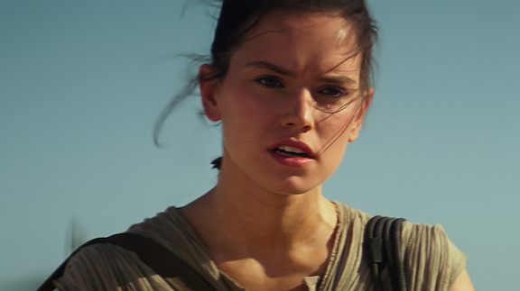 `Star Wars: The Force Awakens` actress Daisy Ridley as Rey. (Photo © Lucasfilm Ltd. & TM. All Rights Reserved.)