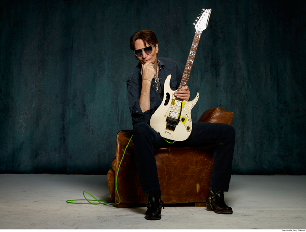 Steve Vai (Photos by Larry DiMarzio)