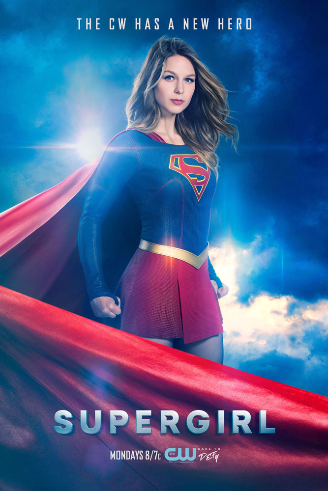 Melissa Benoist as Supergirl (The CW photo by Frank Ockefels III)
