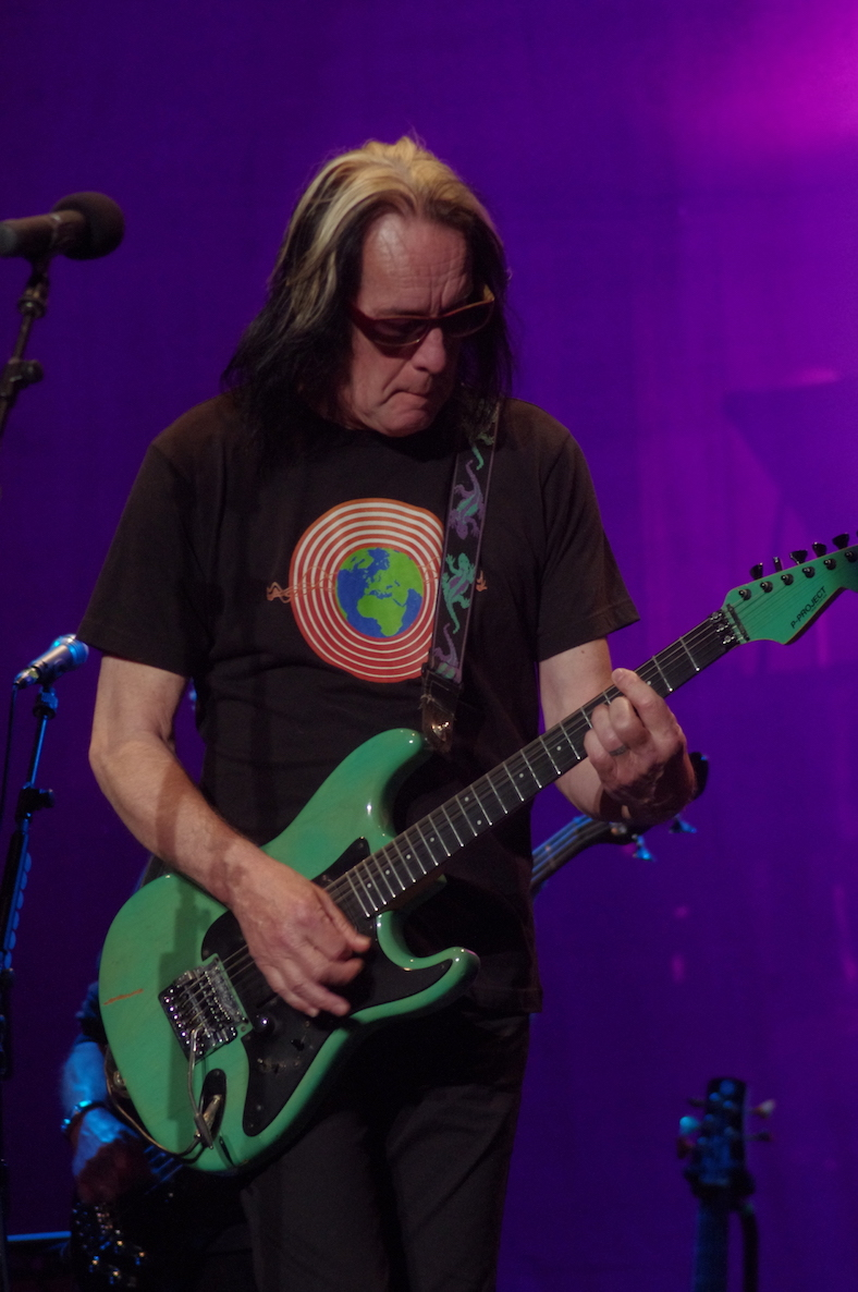 Todd Rundgren is shown performing at the Historic Riviera Theatre in North Tonawanda. He returns to the venue on Wednesday. (Submitted photo)