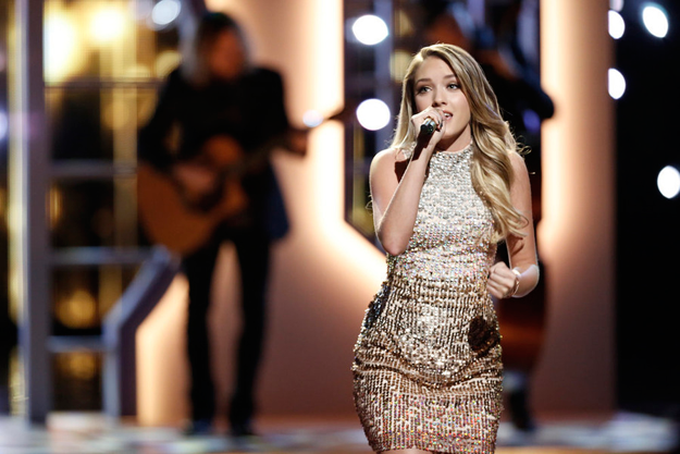 `The Voice`: Emily Ann Roberts (NBC photos by Tyler Golden, Chris Haston and Trae Patton)
