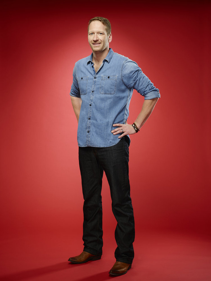 """The Voice"": Barrett Baber (NBC photo by Trae Patton)"