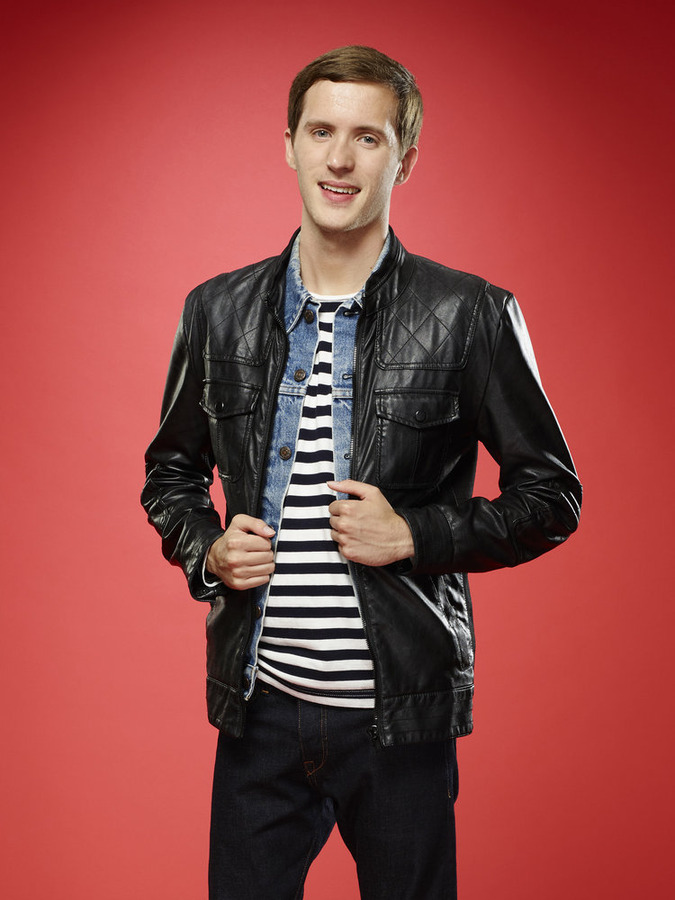 """The Voice"": Evan McKeel (NBC photo by Trae Patton)"
