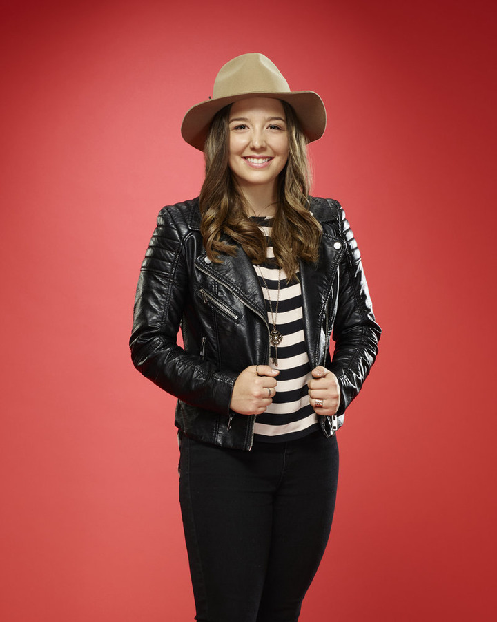 """The Voice"": Lyndsey Elm. (NBC photo by Trae Patton)"