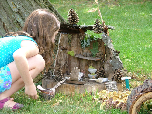 Pictured is a previous Fairy House Festival at Artpark. (submitted photo)