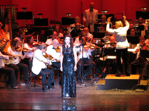 Michele Ragusa performs with the Buffalo Philharmonic Orchestra.