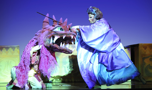 Artpark presents `Aladdin & Other Enchanting Tales` as its annual springtime children's theater offering on May 6, 2014.