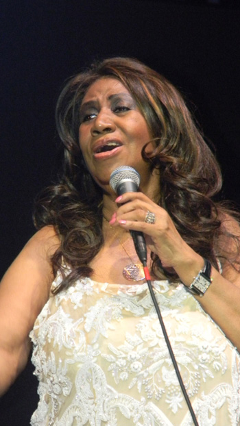 Aretha Franklin at Artpark