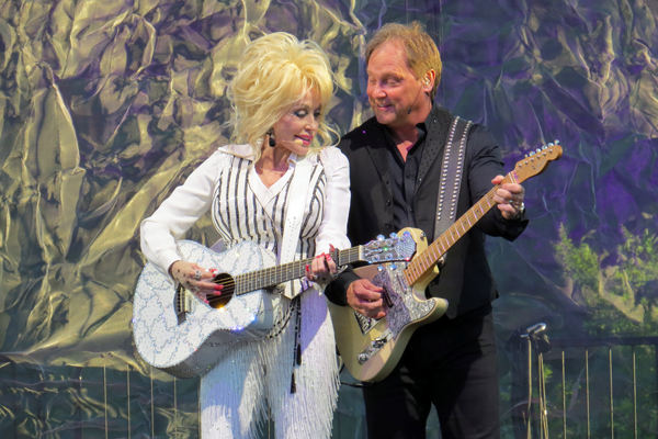 Dolly Parton at Artpark.