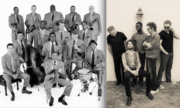 From left: Jazz at Lincoln Center Orchestra with Wynton Marsalis, and Chick Corea & The Vigil.