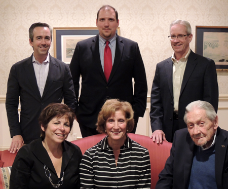 Shown are newly elected Artpark & Company directors. From left, back row: Daniel Montante, Stephen Turner and Daniel Forsyth; and from left, front row: Joanne Bauer, Chairwoman Dena Armstrong and Thomas Burrows.