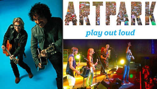 Artpark has a new logo, Daryl Hall & John Oates and Boston for summer 2014.