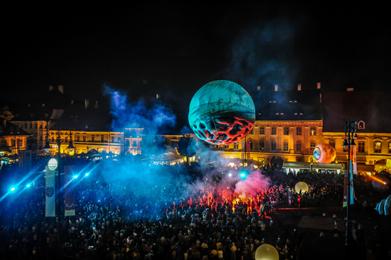 `Big Bang` will make its U.S. debut, at Artpark, this summer. (Dragos Dumitru photo provided by Artpark & Company)