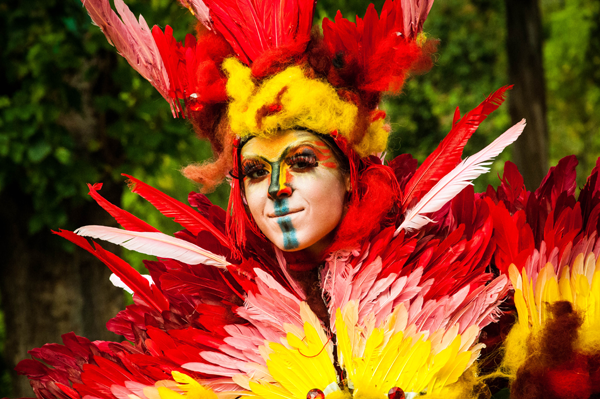 Pictured is a costume by Uta Bekaia. (Artpark & Company photo)