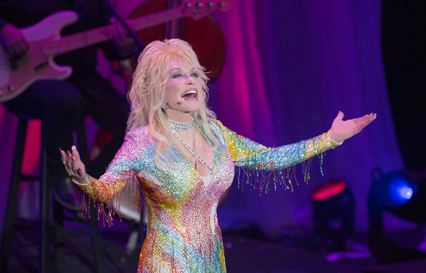 Dolly Parton, pictured, and The Band Perry will perform in the first four weeks of Artpark's 2016 season. (Photo by Webster Public Relations)