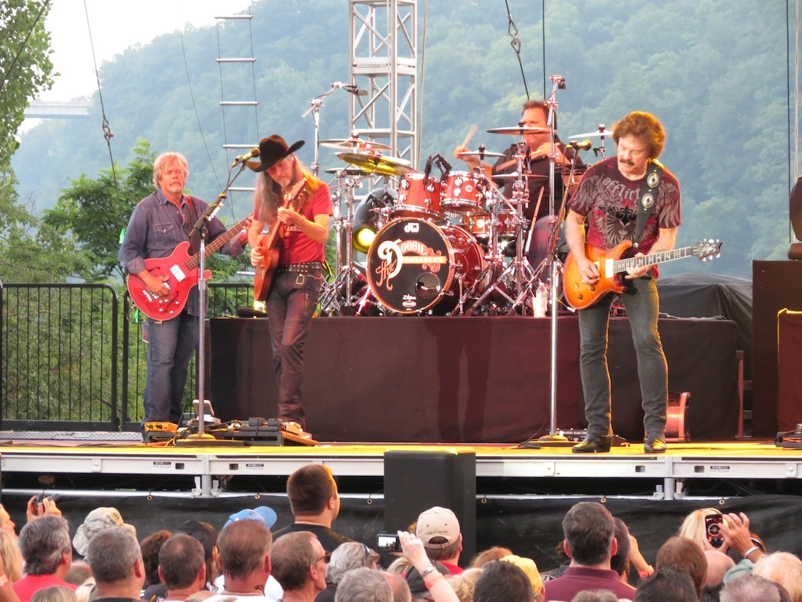 The Doobie Brothers at Artpark in Lewiston.
