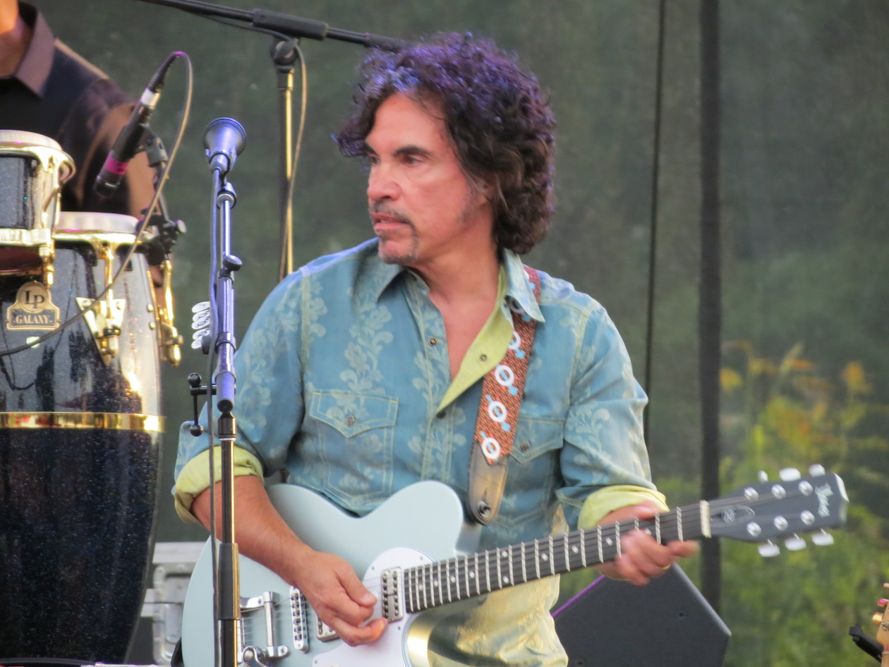 John Oates performs at Artpark.