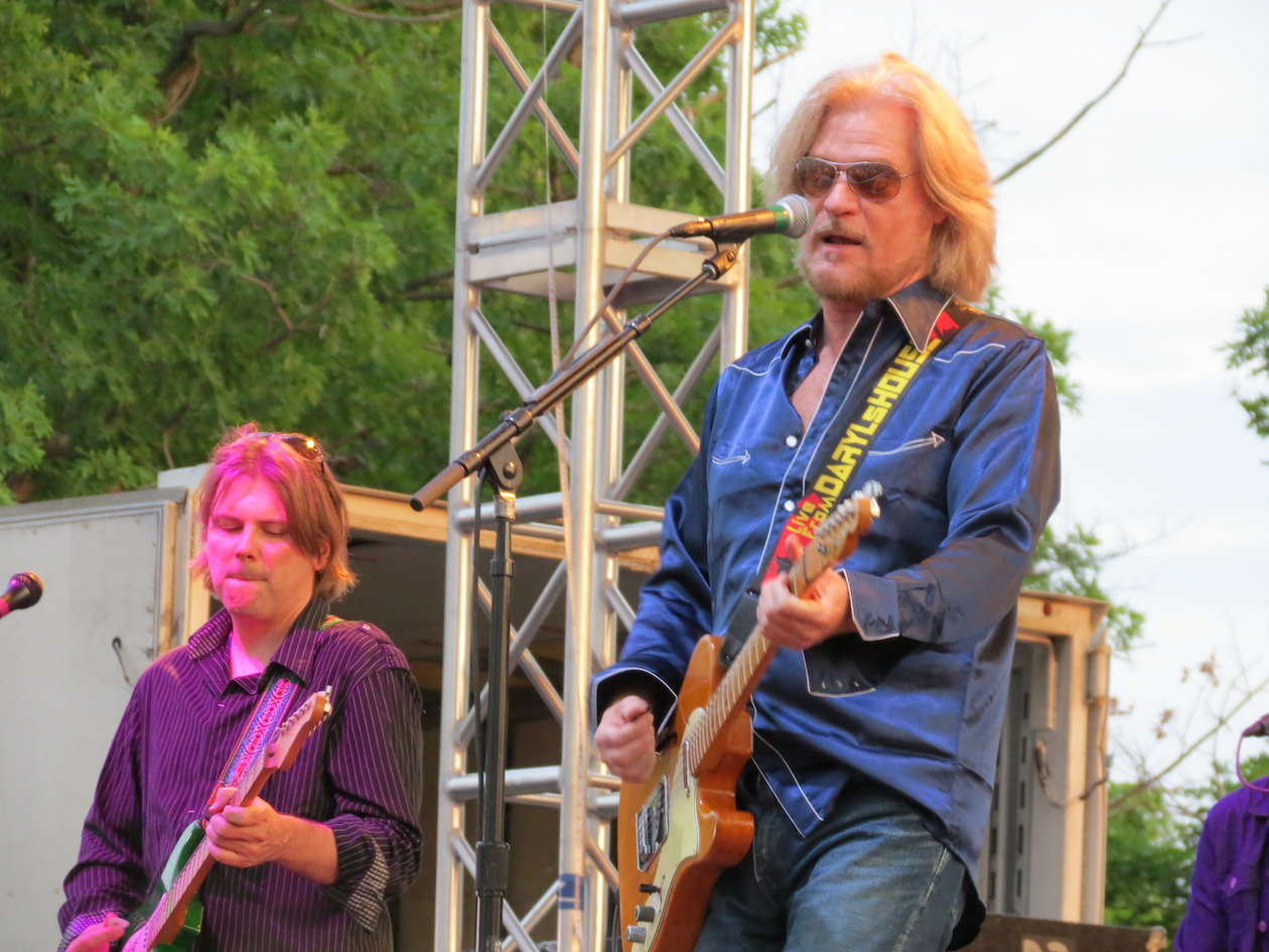 Daryl Hall at Artpark.