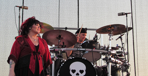 Ann Wilson of Heart.