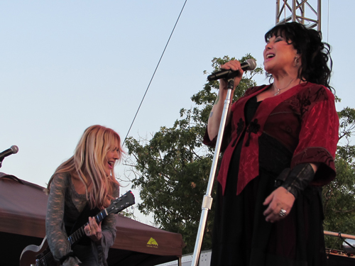 Nancy and Ann Wilson of Heart.