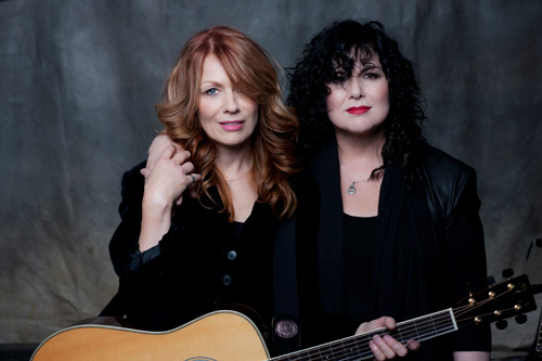 Nancy and Ann Wilson of Heart (photo by Norman Seeff)