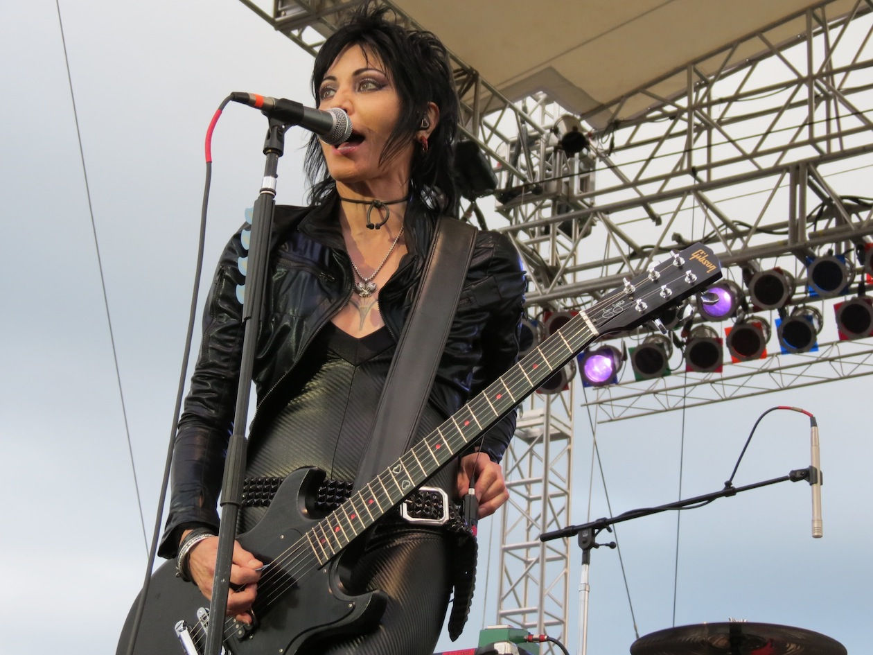 Joan Jett performs at Artpark