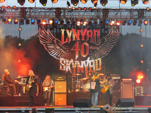 Lynyrd Skynyrd headlined the Aug. 13 `Tuesday in the Park` concert at Artpark in Lewiston.