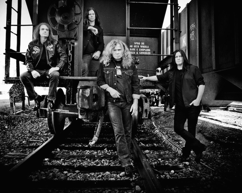Megadeth (photo by Myriam Santos)