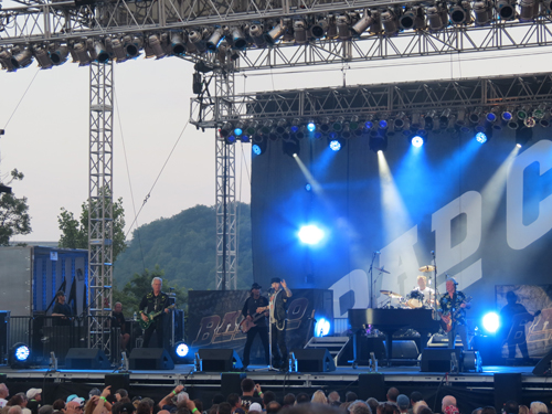Paul Rodgers and Bad Company performed Tuesday at Artpark in Lewiston.
